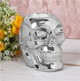 Duftlampe Aromalampe -Skull chrome- - Bild vergrößern