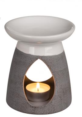Duftlampe Aromalampe -White / Grey- - Bild vergrößern